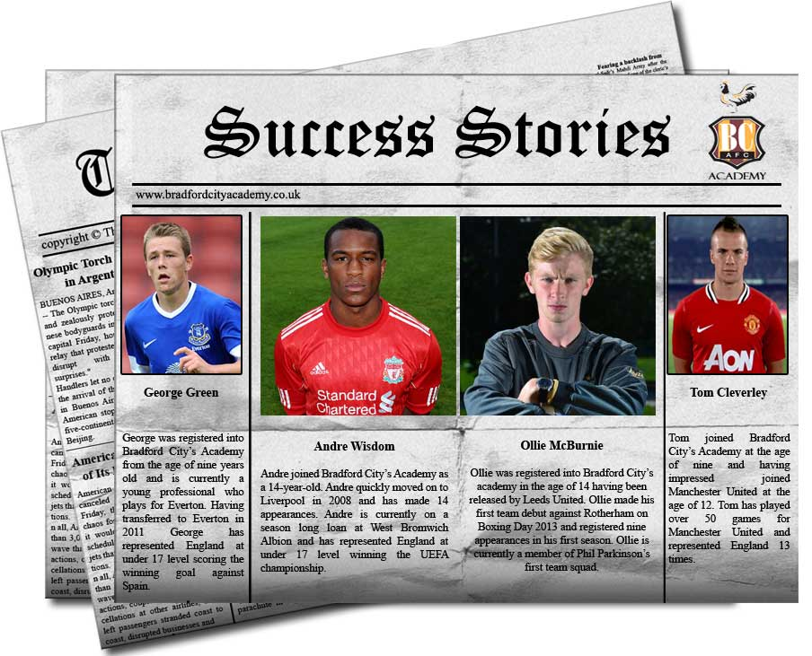 Success Stories at Bradford City Academy